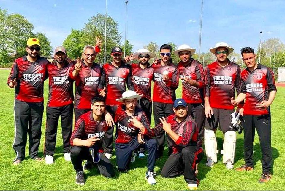 Cricket-Team des SC Tiengen
